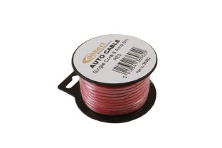 Connect 36962 Mini Reel Automotive Cable 8 Amp Red 6m